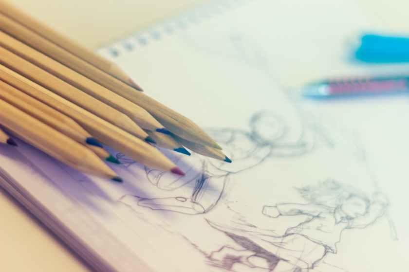 art blur close up color